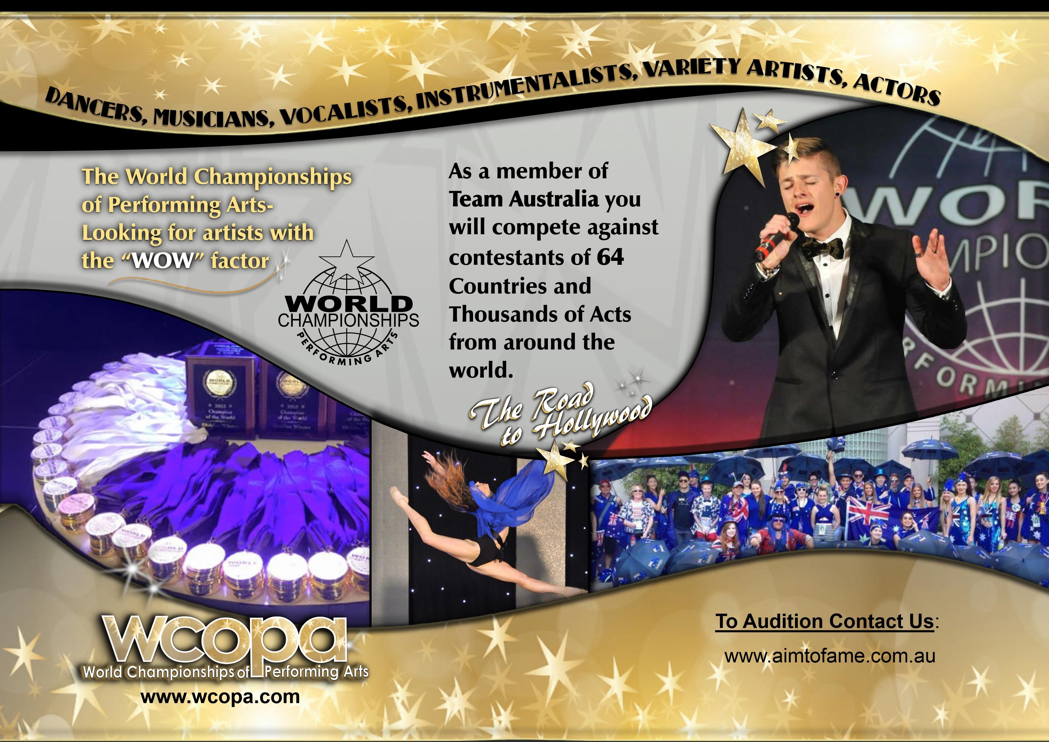 WCOPA Flyer